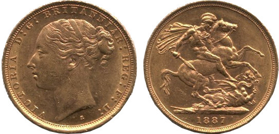 Victoria Young Head Sovereign